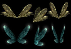 Faerie skrzydła Obraz Stock
