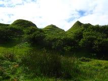 Faery Glen. In Skye, Scotland Stock Photo