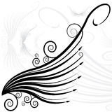 Faery Swirl Wing royalty free illustration
