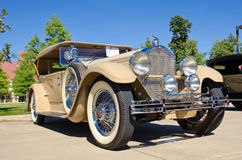 Faeton 1929 di Packard Fotografia Stock