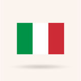 Fag of Italy Royalty Free Stock Image