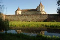 fagaras筑了堡垒于堡垒 免版税库存图片