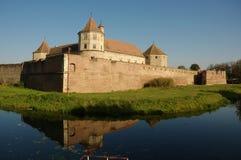 fagaras筑了堡垒于堡垒 免版税图库摄影