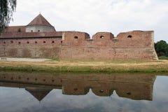 Fagaras укрепило крепость стоковое фото rf