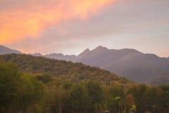 Fagaras berg Royaltyfria Bilder