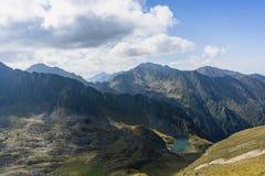 Fagaras-Berge im rumänischen Land Lizenzfreies Stockbild