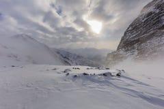 Fagaras Berge, Rumänien Stockbilder