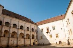 Fagaras fästning i Transylvania Royaltyfri Foto