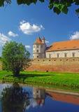 Fagaras fästning Transyilvania Arkivfoto
