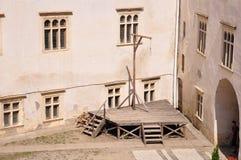 Fagaras-Festung stockfotografie