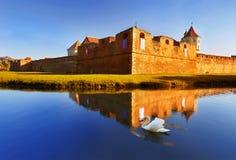 Fagaras-Festung stockfoto