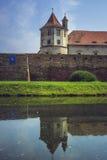 Fagaras forteca, Fagaras miasto, Rumunia Zdjęcie Stock