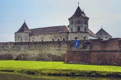 Fagaras forteca, Fagaras, Rumunia Fotografia Royalty Free