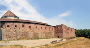 Fagaras fortified fortress Royalty Free Stock Images