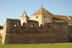 Fagaras fortified fortress from Transylvania Royalty Free Stock Photos