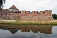 Fagaras fortified fortress Royalty Free Stock Photo