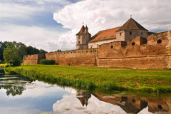 Fagaras Fortress Stock Images
