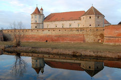 Fagaras fortress Stock Photography