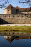 The Fagaras Fortress in Brasov Stock Photos