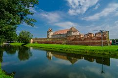 The Fagaras Fortress in Brasov County, Romania. Stock Photo