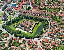 Fagaras Fortress. Fagaras, Brasov County, Transylvania, Romania royalty free stock photo