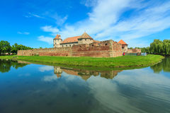 Fagaras Fortress in Brasov county,Transylvania,Romania Stock Photo