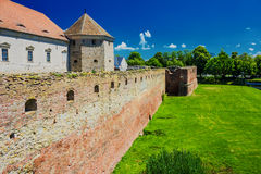 Fagaras Fortress Stock Photo