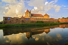 Fagaras Fortress Royalty Free Stock Photo