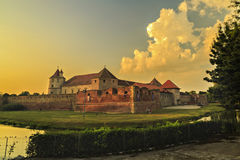 Fagaras Fortress Royalty Free Stock Image