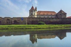 Fagaras fortress, Fagaras city, Romania Stock Images