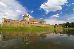 Fagaras Fortress. Old  medieval Fortress of Fagaras in Brașov, Transylvania, Romania Royalty Free Stock Images