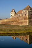 Fagaras Fortress - Romania Royalty Free Stock Images