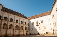Fagaras fortress in Transylvania Royalty Free Stock Photo
