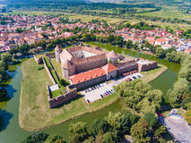 Fagaras Fortress in Transylvania Royalty Free Stock Images