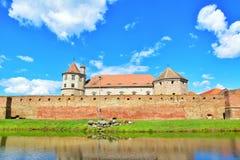 Fagaras fortress walls Royalty Free Stock Photography