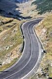 Fagaras góry drogowe Zdjęcia Royalty Free