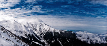 Fagaras landscape Royalty Free Stock Images