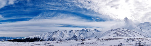 Fagaras landscape Royalty Free Stock Photo