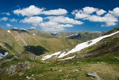 Fagaras. Landscape in Fagaras, Romanian mountains stock photos
