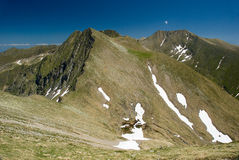 Fagaras. Mountain in Romania in Europe Royalty Free Stock Photography
