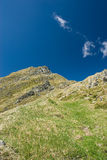 Fagaras. Mountain in Romania in Europe Royalty Free Stock Photos