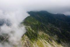 Fagaras Mountains. Custura Saratii in Fagaras edge,Romania Stock Photography