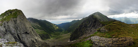 Fagaras mountains Royalty Free Stock Image