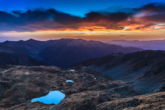 Fagaras Mountains Royalty Free Stock Photo