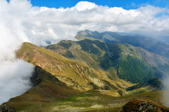 Fagaras Mountains. Landscape of Fagaras Mountains, Romania Stock Image