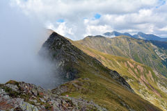 Fagaras Mountains. Landscape of Fagaras Mountains, Romania Stock Images