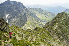 Fagaras Mountains Stock Photo
