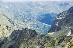Fagaras Mountains Royalty Free Stock Photography