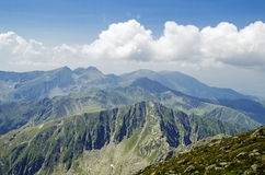 Fagaras Mountains Stock Image