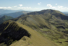 Fagaras Mountains, Romania Stock Photography